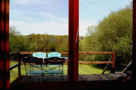 Kingfisher lake includes a swimming pool and food packages allowing you to sit back and relax