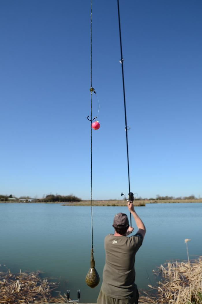 single hookbaits can be fished at long range