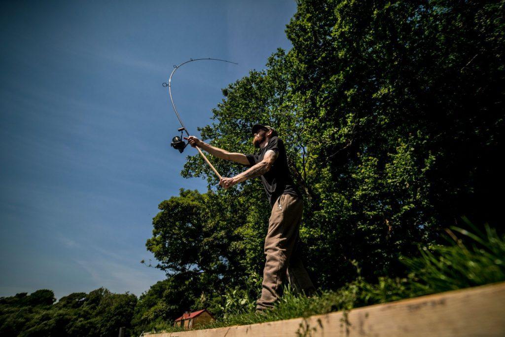 long distance carp fishing