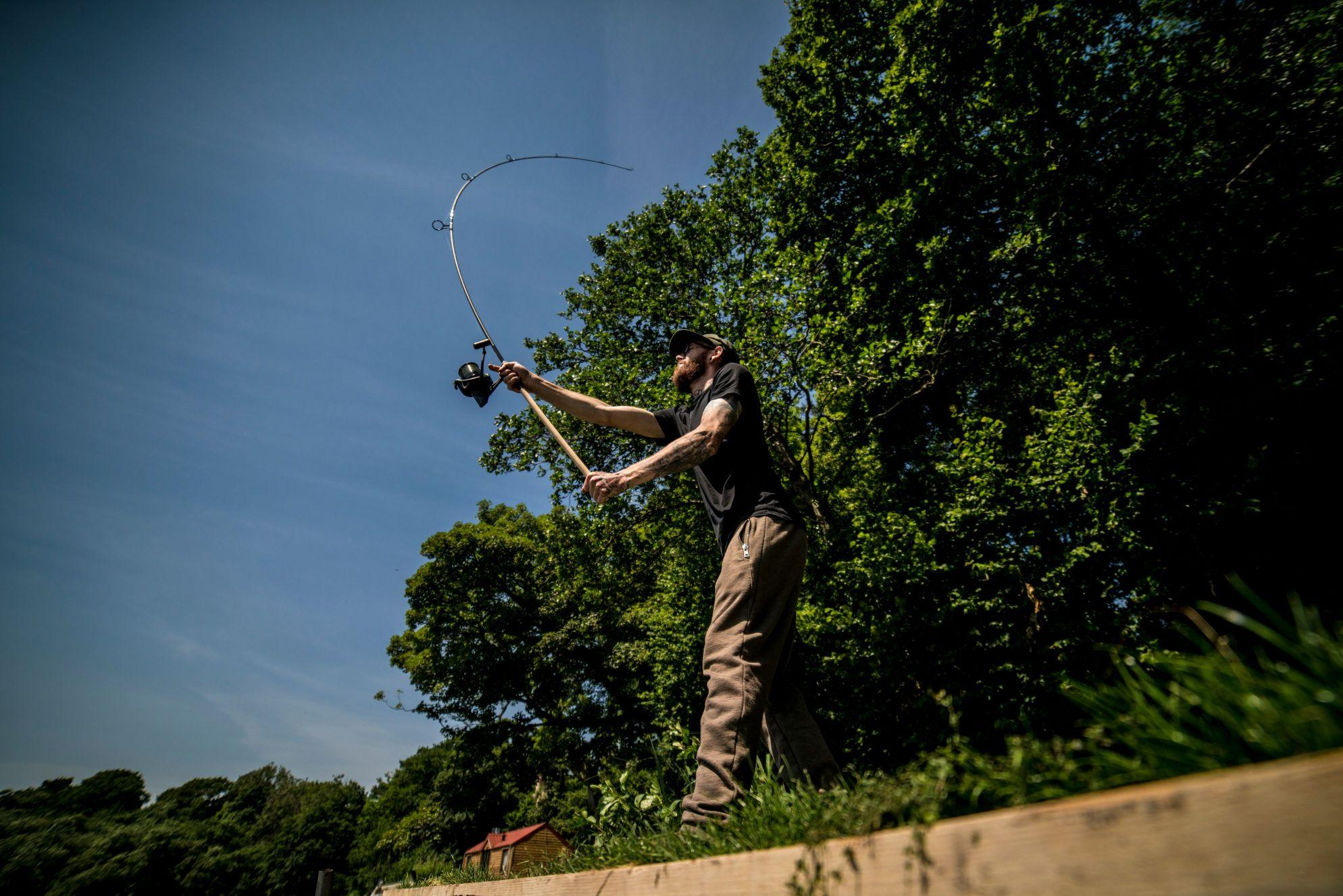 Learn how to cast further and fish for carp at long range